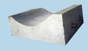 Блоки лекальные под трубопровод