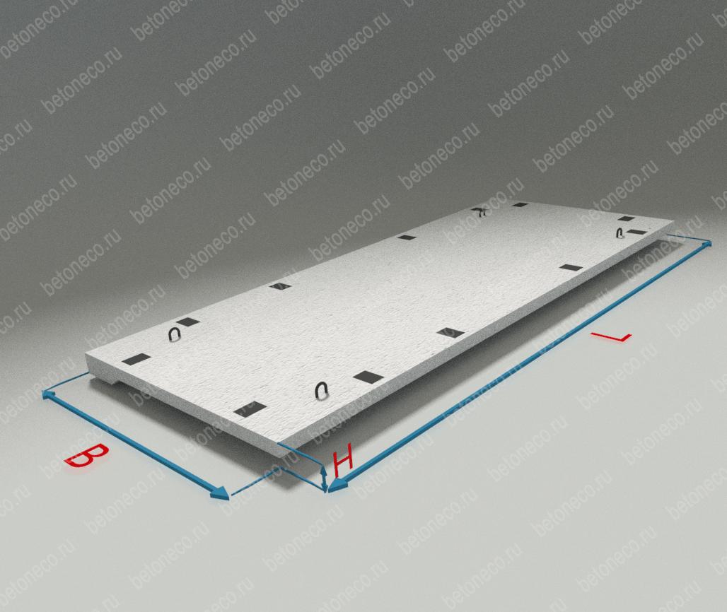 Фундаментные блоки для прямоугольных труб тип ЗП