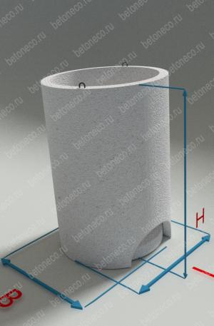 Железобетонные круглые кольца для водопроводных колодцев Серия 3.900.1-14, выпуск 1