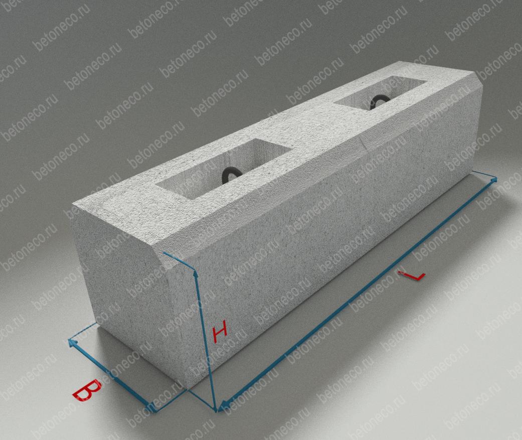 Железобетонные фундаментные блоки