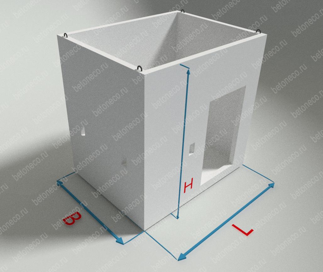 Грузопассажирские шахты лифтов ШЛГП63п
