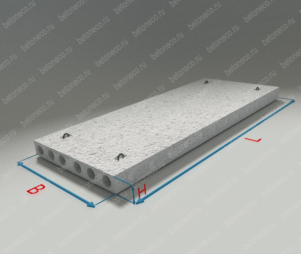 Железобетонные блоки перекрытия