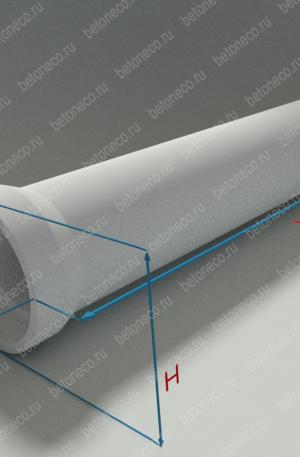 Водопропускные дорожные железобетонные усиленные трубы тип ТВ